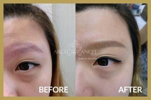 Eyebrow Embroidery - Korea combo eyebrow