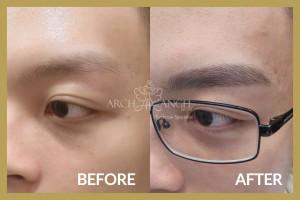 Men natural eyebrow 2