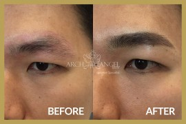 Men natural eyebrow
