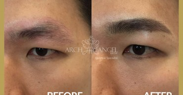 Men natural eyebrow